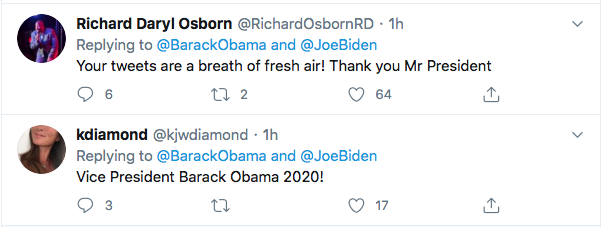 Screen-Shot-2020-07-04-at-11.48.28-AM Obama Responds Biden's 4th Of July Tweet Like A U.S. Hero Donald Trump Election 2020 Featured Politics Top Stories Twitter
