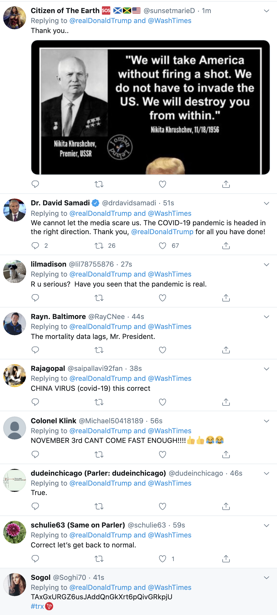 Screen-Shot-2020-07-07-at-7.55.23-AM Trump Tweets Dangerous COVID-19 Lies During Early Morning Meltdown Conspiracy Theory Coronavirus Crime Featured Politics Top Stories