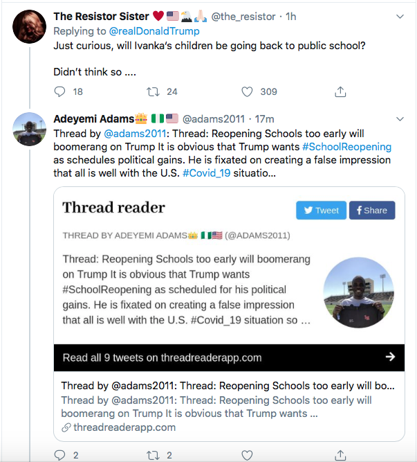 Screen-Shot-2020-07-10-at-1.01.35-PM Trump Condemns Universities & Schools Like A Maniac Donald Trump Education Election 2020 Featured Politics Top Stories Twitter