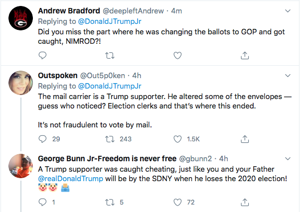 Screen-Shot-2020-07-11-at-4.18.13-PM Trump Jr Accidentally Exposes GOP Voter Fraud During Saturday Flub Donald Trump Election 2020 Featured Politics Top Stories