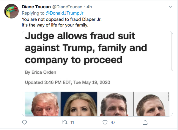 Screen-Shot-2020-07-11-at-4.20.34-PM Trump Jr Accidentally Exposes GOP Voter Fraud During Saturday Flub Donald Trump Election 2020 Featured Politics Top Stories