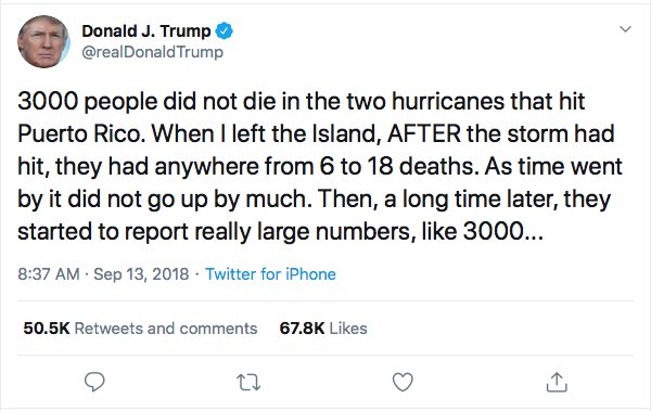 Screen-Shot-2020-07-11-at-4.50.58-PM Trump Attempt To Sell Puerto Rico After 2 Hurricanes Leaked By Former Staffer Donald Trump Election 2020 Featured Natural Disaster Politics Top Stories
