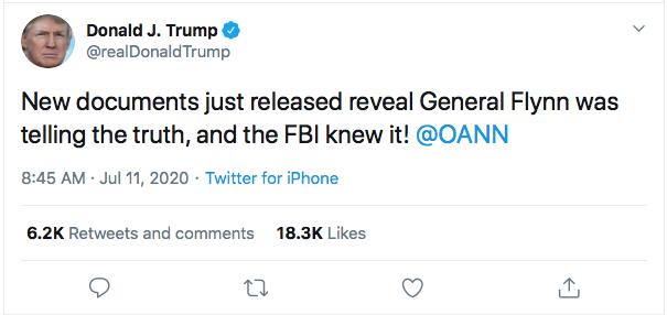 Screen-Shot-2020-07-11-at-9.03.04-AM Trump Announces Obama Crimes During Pre-Dawn Emotional Breakdown Corruption Crime Donald Trump Featured Politics Top Stories Twitter