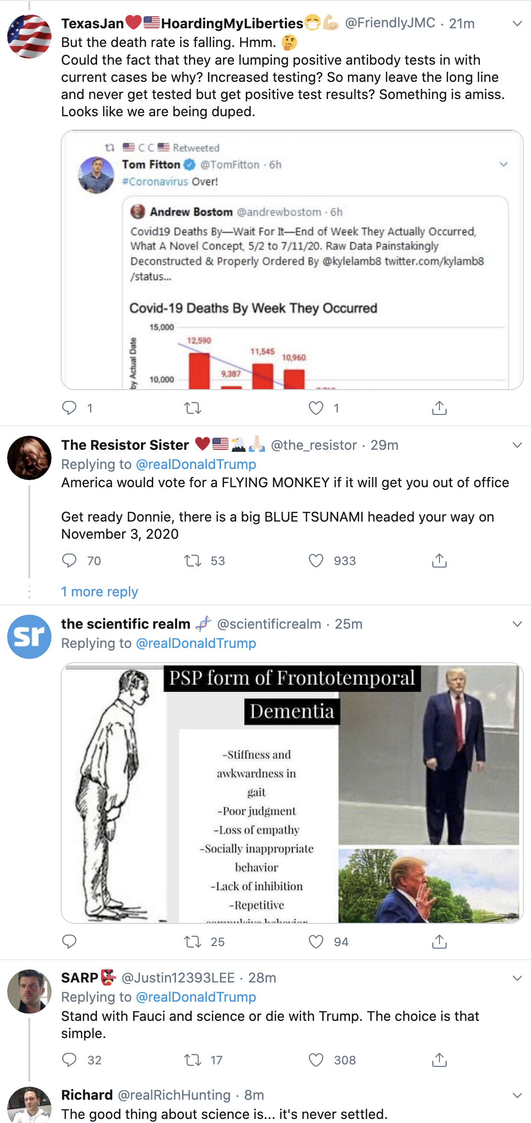 Screen-Shot-2020-07-13-at-7.13.29-AM Unpopular Trump Suffers Monday Morning Mental Collapse Election 2020 Featured Media Politics Top Stories