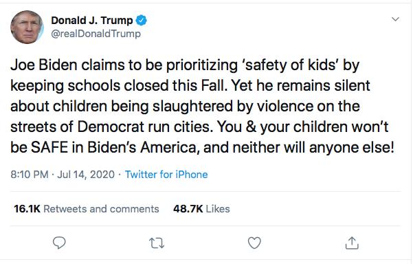 Screen-Shot-2020-07-14-at-8.55.12-PM Trump Goes Berserk During Vulgar Late Tuesday Night Twitter Rant Coronavirus Donald Trump Election 2020 Featured Politics Top Stories Twitter