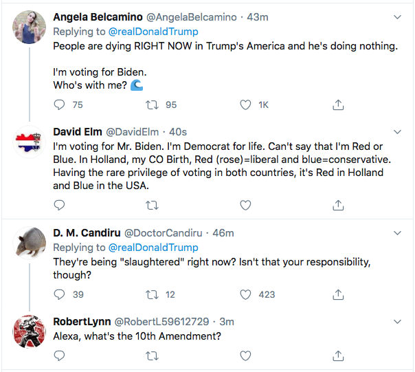 Screen-Shot-2020-07-14-at-8.57.29-PM Trump Goes Berserk During Vulgar Late Tuesday Night Twitter Rant Coronavirus Donald Trump Election 2020 Featured Politics Top Stories Twitter