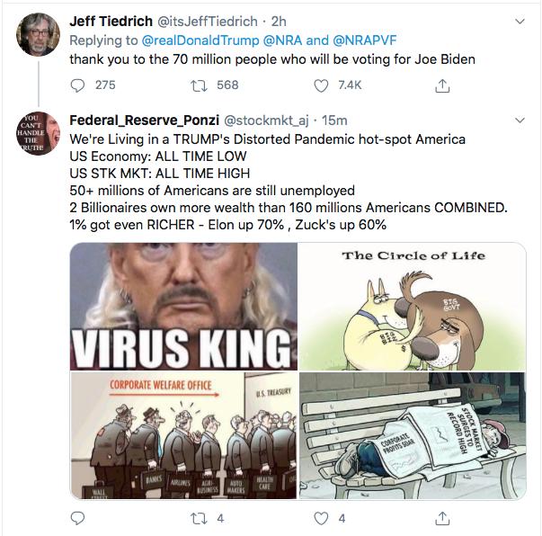 Screen-Shot-2020-07-17-at-3.16.28-PM Trump Tweets About 'Radical Left' Gun Seizures During Afternoon Stupid Donald Trump Election 2020 Gun Control NRA Politics Top Stories Twitter
