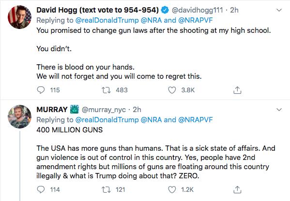 Screen-Shot-2020-07-17-at-3.16.48-PM Trump Tweets About 'Radical Left' Gun Seizures During Afternoon Stupid Donald Trump Election 2020 Gun Control NRA Politics Top Stories Twitter
