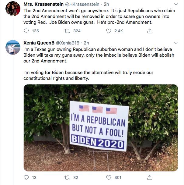 Screen-Shot-2020-07-17-at-3.17.16-PM Trump Tweets About 'Radical Left' Gun Seizures During Afternoon Stupid Donald Trump Election 2020 Gun Control NRA Politics Top Stories Twitter