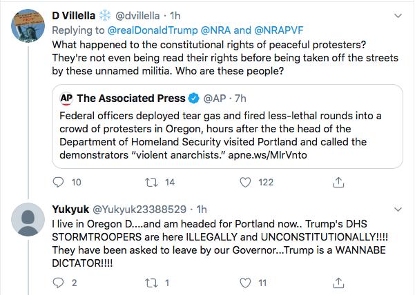 Screen-Shot-2020-07-17-at-3.19.09-PM Trump Tweets About 'Radical Left' Gun Seizures During Afternoon Stupid Donald Trump Election 2020 Gun Control NRA Politics Top Stories Twitter
