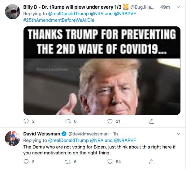 Screen-Shot-2020-07-17-at-3.21.08-PM Trump Tweets About 'Radical Left' Gun Seizures During Afternoon Stupid Donald Trump Election 2020 Gun Control NRA Politics Top Stories Twitter