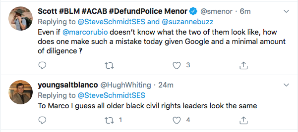 Screen-Shot-2020-07-18-at-3.35.55-PM Rubio Blows John Lewis 'Tribute' With Picture Of Wrong Black Man Election 2020 Featured Politics Racism Top Stories Twitter