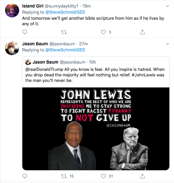 Screen-Shot-2020-07-18-at-3.36.37-PM Rubio Blows John Lewis 'Tribute' With Picture Of Wrong Black Man Election 2020 Featured Politics Racism Top Stories Twitter