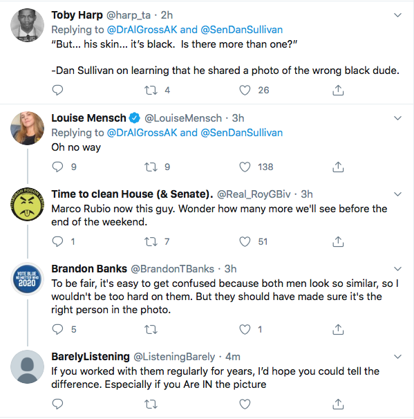Screen-Shot-2020-07-18-at-8.36.30-PM Another Republican Senator Posts Image Of Wrong Black Man Not John Lewis Featured Politics Top Stories Twitter