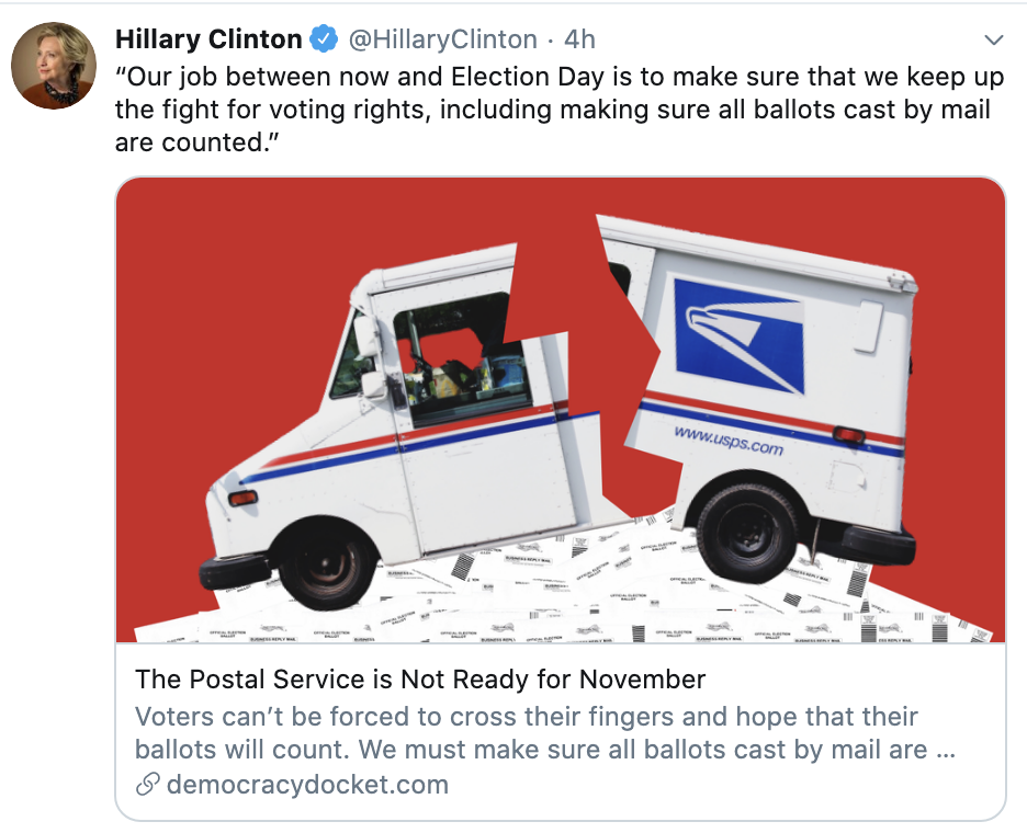 Screen-Shot-2020-07-21-at-12.22.07-PM Plot To Stop Mail-In Voting Via Post Office Sabotage Uncovered & Announced Corruption Election 2020 Featured Politics Top Stories