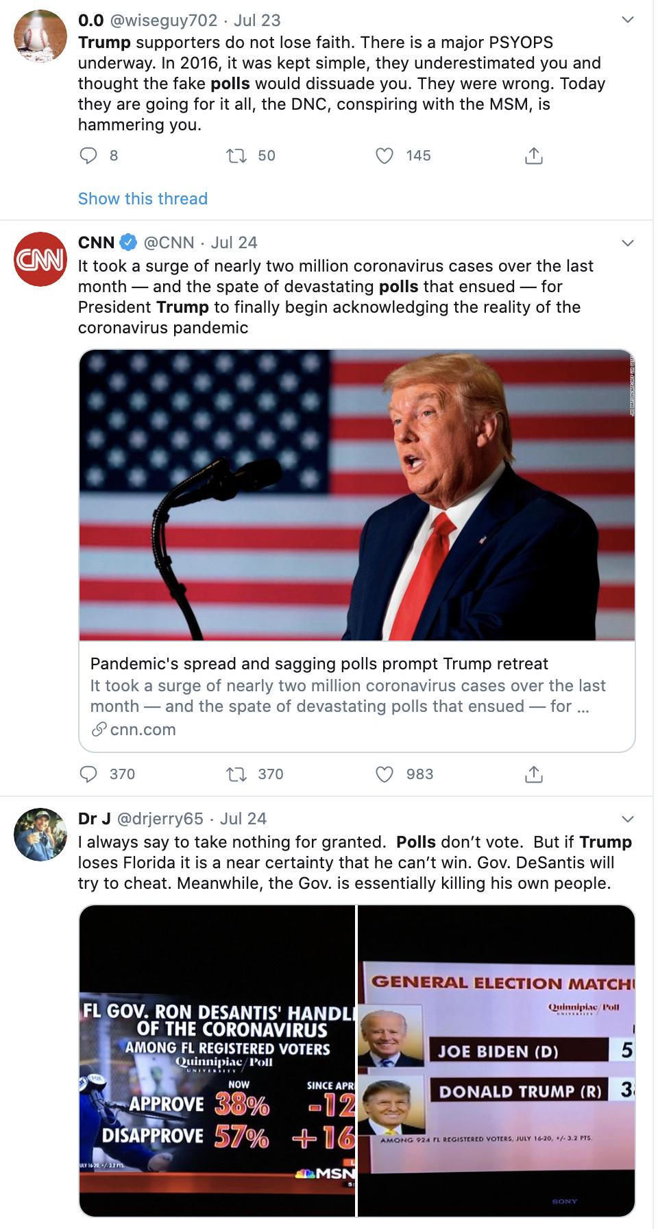 Screen-Shot-2020-07-26-at-9.40.18-AM New Michigan, Arizona & Florida Polls Have Trump Tweeting For His Life Election 2020 Featured Politics Polls Top Stories