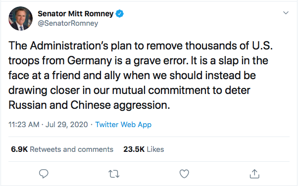Screen-Shot-2020-07-29-at-6.56.32-PM Mitt Romney Goes Rogue Again To Publicly Snub Trump Donald Trump Featured Foreign Policy Military Politics Top Stories