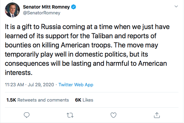 Screen-Shot-2020-07-29-at-6.56.48-PM Mitt Romney Goes Rogue Again To Publicly Snub Trump Donald Trump Featured Foreign Policy Military Politics Top Stories