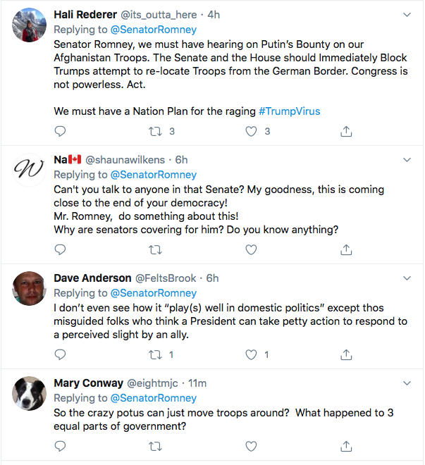 Screen-Shot-2020-07-29-at-7.00.05-PM Mitt Romney Goes Rogue Again To Publicly Snub Trump Donald Trump Featured Foreign Policy Military Politics Top Stories