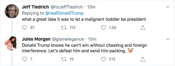 Screen-Shot-2020-07-30-at-4.41.40-PM Trump De-Legitimizes Election Again During Afternoon Hissy-Fit Donald Trump Election 2020 Politics Top Stories Twitter