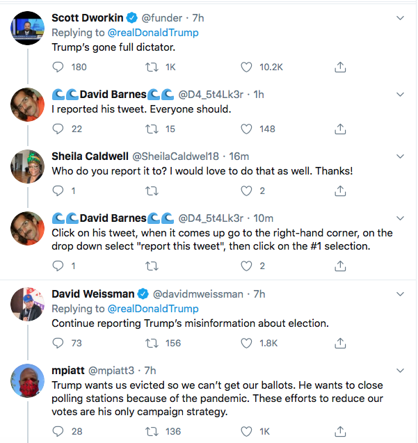 Screen-Shot-2020-07-30-at-4.45.04-PM Trump De-Legitimizes Election Again During Afternoon Hissy-Fit Donald Trump Election 2020 Politics Top Stories Twitter