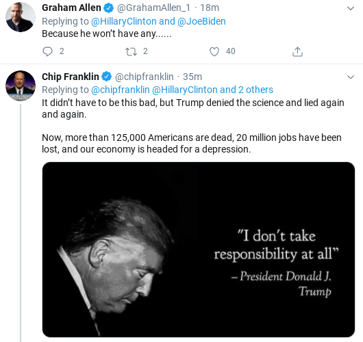 Screenshot-2020-07-01-at-12.27.41-PM Hillary Hits Trump Over Childish Tweeting During Wednesday Take-Down Donald Trump Healthcare Politics Social Media Top Stories
