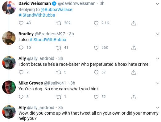 Screenshot-2020-07-06-at-6.34.01-PM NASCAR's Bubba Wallace Emasculates Trump During Monday Rebuke Donald Trump Politics Racism Social Media Top Stories