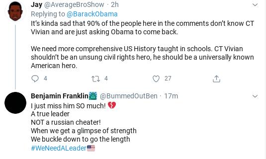 Screenshot-2020-07-17-at-1.47.03-PM Obama Tweets Friday Leadership Message While Trump Rages Donald Trump Politics Social Media Top Stories
