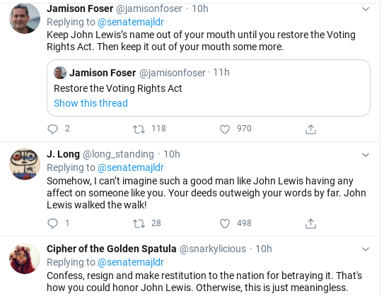 Screenshot-2020-07-18-at-11.36.55-AM Mitch McConnell Humiliated After Attempted John Lewis Tribute Goes Wrong Donald Trump Politics Social Media Top Stories