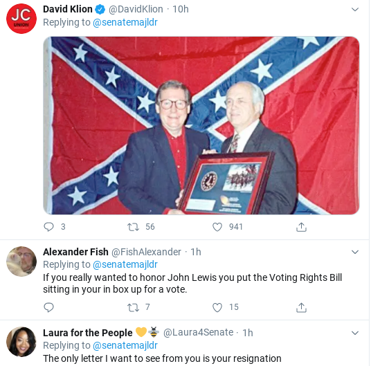 Screenshot-2020-07-18-at-11.37.04-AM Mitch McConnell Humiliated After Attempted John Lewis Tribute Goes Wrong Donald Trump Politics Social Media Top Stories