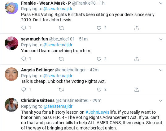 Screenshot-2020-07-18-at-11.37.12-AM Mitch McConnell Humiliated After Attempted John Lewis Tribute Goes Wrong Donald Trump Politics Social Media Top Stories