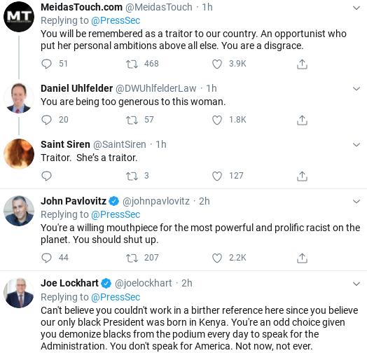 Screenshot-2020-07-18-at-12.00.51-PM Kayleigh McEnany Embarrasses Herself Again With John Lewis Statement Donald Trump Politics Social Media Top Stories