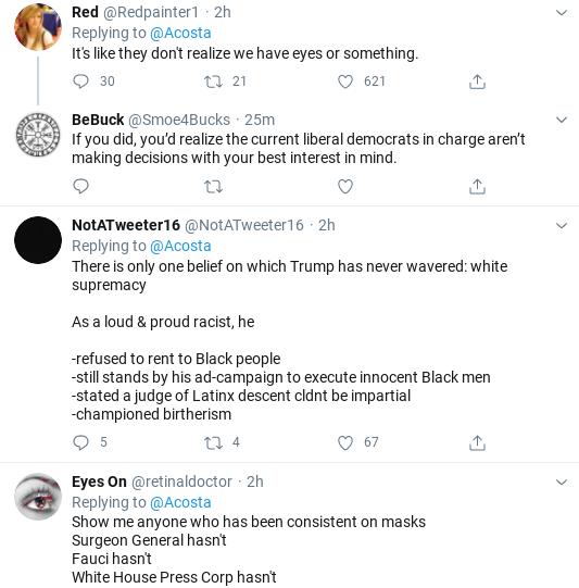 Screenshot-2020-07-21-at-3.11.29-PM Jim Acosta Immediately Fact Checks Kayleigh McEnany Like A Boss Donald Trump Politics Social Media Top Stories