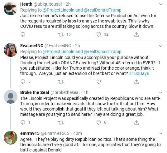 Screenshot-2020-07-25-at-6.00.22-PM 'The Lincoln Project' Trolls Trump Over COVID Testing In Weekend Video Coronavirus Donald Trump Election 2020 Politics Social Media Top Stories