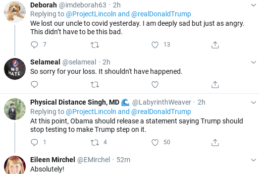 Screenshot-2020-07-25-at-6.00.42-PM 'The Lincoln Project' Trolls Trump Over COVID Testing In Weekend Video Coronavirus Donald Trump Election 2020 Politics Social Media Top Stories