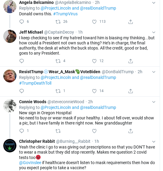 Screenshot-2020-07-25-at-6.01.22-PM 'The Lincoln Project' Trolls Trump Over COVID Testing In Weekend Video Coronavirus Donald Trump Election 2020 Politics Social Media Top Stories