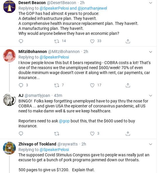 Screenshot-2020-07-27-at-2.32.17-PM Pelosi Shames GOP Over Abandoning Americans During COVID-19 Coronavirus Donald Trump Healthcare Politics Social Media Top Stories