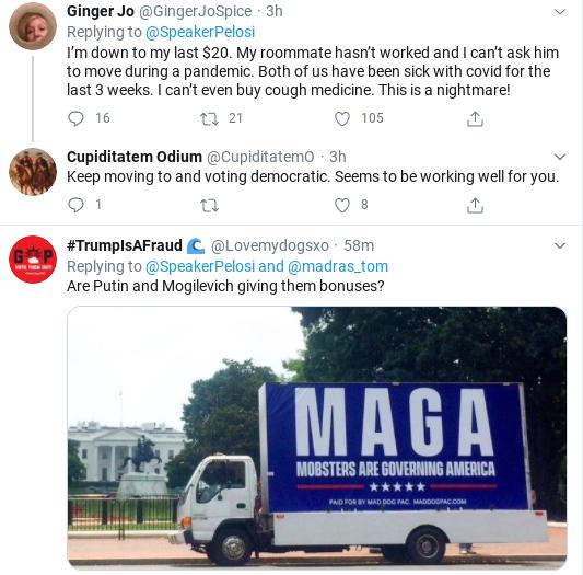 Screenshot-2020-07-27-at-2.34.38-PM Pelosi Shames GOP Over Abandoning Americans During COVID-19 Coronavirus Donald Trump Healthcare Politics Social Media Top Stories