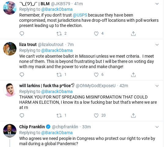 Screenshot-2020-07-28-at-1.13.00-PM Obama Tweets Tuesday Vote-By-Mail Instructions Like Our Real President Donald Trump Election 2020 Politics Social Media Top Stories