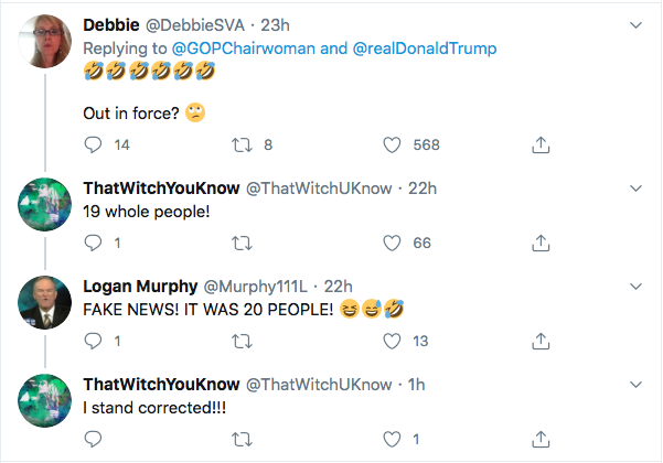 Screen-Shot-2020-08-03-at-4.05.06-PM Less Than 20 MAGA Supporters Show Up At 'Big' Trump Protest Rally Donald Trump Election 2020 Featured Politics Top Stories Twitter