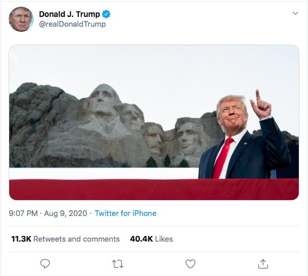 Screen-Shot-2020-08-09-at-9.39.55-PM Trump Snaps At CNN & NY Times During Deranged Twitter Meltdown Donald Trump Election 2020 Featured Politics Top Stories Twitter