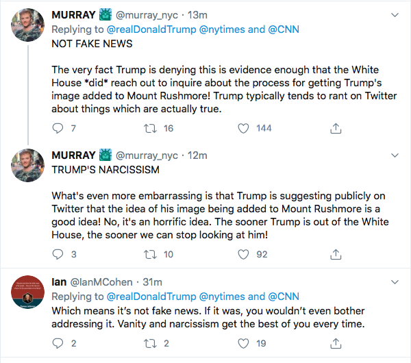 Screen-Shot-2020-08-09-at-9.45.03-PM Trump Snaps At CNN & NY Times During Deranged Twitter Meltdown Donald Trump Election 2020 Featured Politics Top Stories Twitter