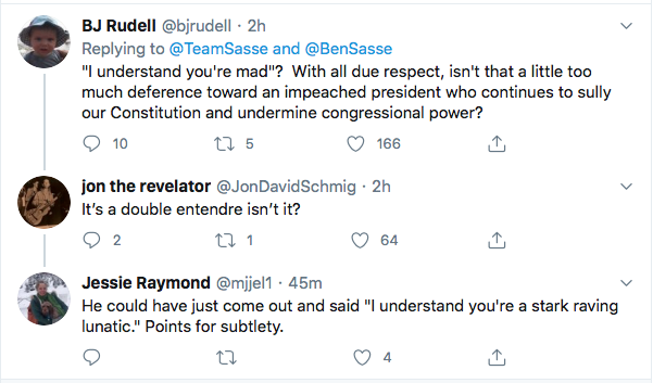 Screen-Shot-2020-08-10-at-6.18.37-PM Ben Sasse Responds To Trump's Twitter Tantrum Like A Real Adult Coronavirus Donald Trump Election 2020 Featured Impeachment Politics Top Stories Twitter