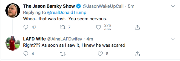 Screen-Shot-2020-08-11-at-4.46.07-PM Terrified Trump Tweets At Kamala Harris Like A Scared Boy Donald Trump Election 2020 Featured Politics Top Stories Twitter Videos