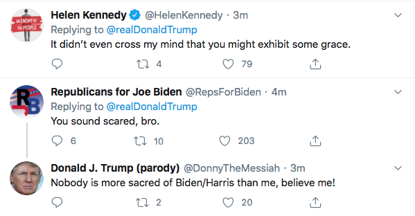 Screen-Shot-2020-08-11-at-4.46.25-PM Terrified Trump Tweets At Kamala Harris Like A Scared Boy Donald Trump Election 2020 Featured Politics Top Stories Twitter Videos