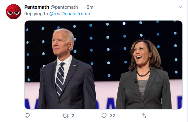 Screen-Shot-2020-08-11-at-4.48.59-PM Terrified Trump Tweets At Kamala Harris Like A Scared Boy Donald Trump Election 2020 Featured Politics Top Stories Twitter Videos