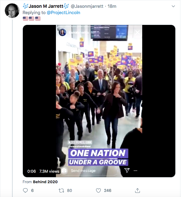 Screen-Shot-2020-08-11-at-5.08.34-PM 'The Lincoln Project' Master Trolls Trump Over Kamala Harris VP Pick Donald Trump Election 2020 Featured Politics Top Stories Twitter Videos