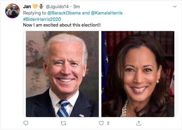 Screen-Shot-2020-08-11-at-5.25.40-PM Obama Trolls Trump Over Kamala Harris Pick; 'Joe Nailed This'  (TWEET) Election 2020 Featured Politics Top Stories Twitter