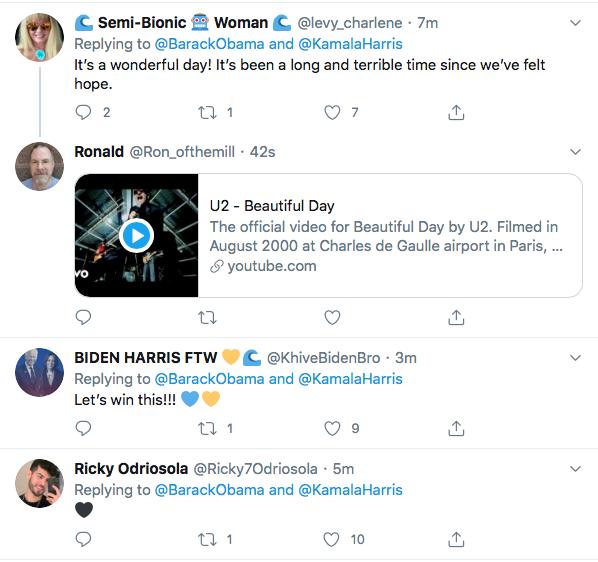 Screen-Shot-2020-08-11-at-5.26.24-PM Obama Trolls Trump Over Kamala Harris Pick; 'Joe Nailed This'  (TWEET) Election 2020 Featured Politics Top Stories Twitter