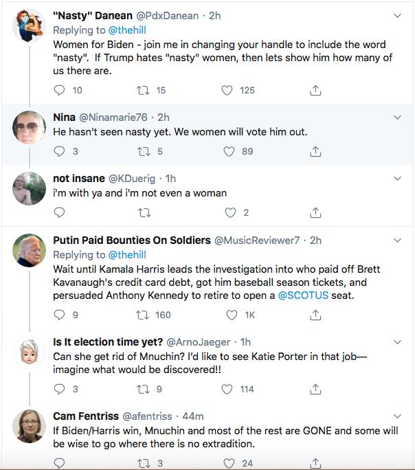 Screen-Shot-2020-08-11-at-9.05.31-PM Trump Rages About Kamala Harris Destroying Brett Kavanaugh Donald Trump Election 2020 Featured Politics Top Stories Twitter Videos
